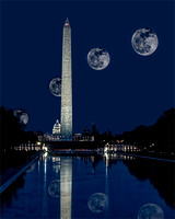 Blue Moon Over Washington